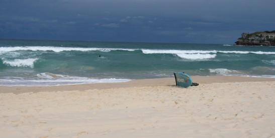Bondi 16. Juli 09 - Sand blieb trocken © jj